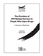 Drug Policy and Harm Reduction