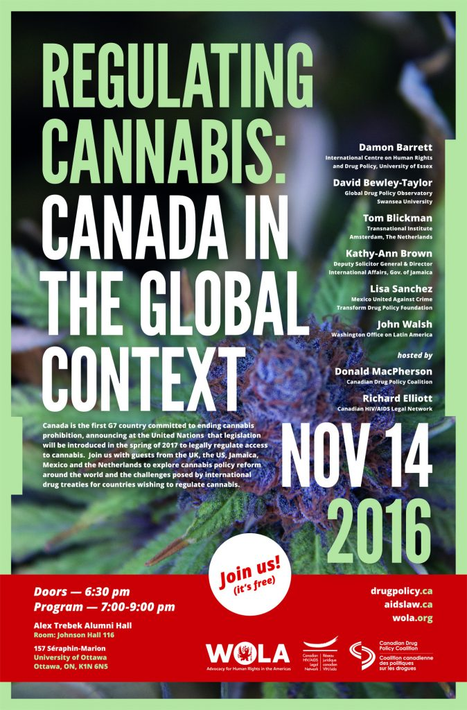 Regulating Cannabis: Canada in the Global Context