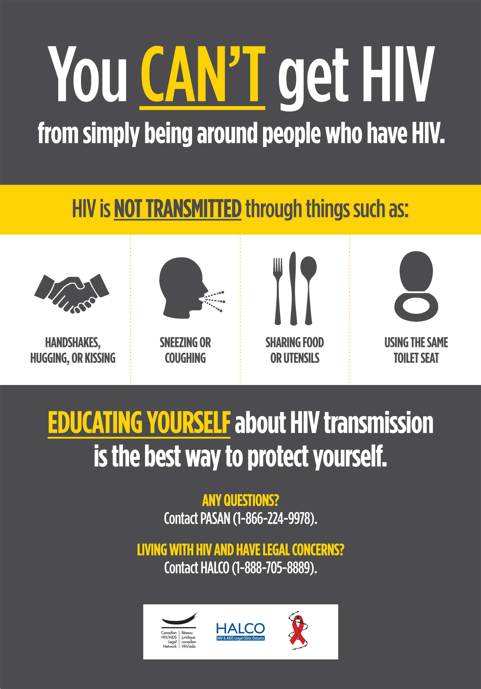 Hiv transmission myths