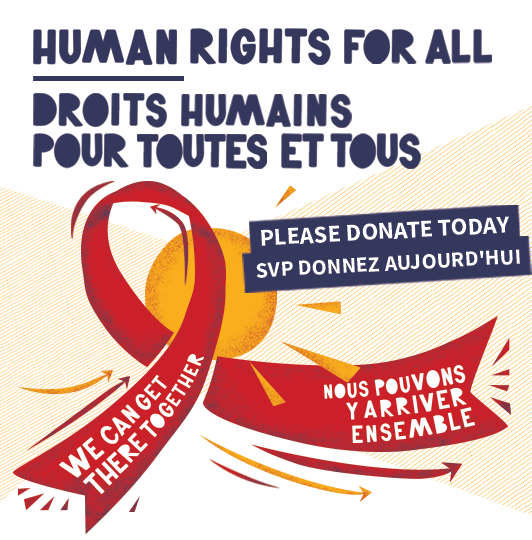 Human Rights for All : Please Donate Today