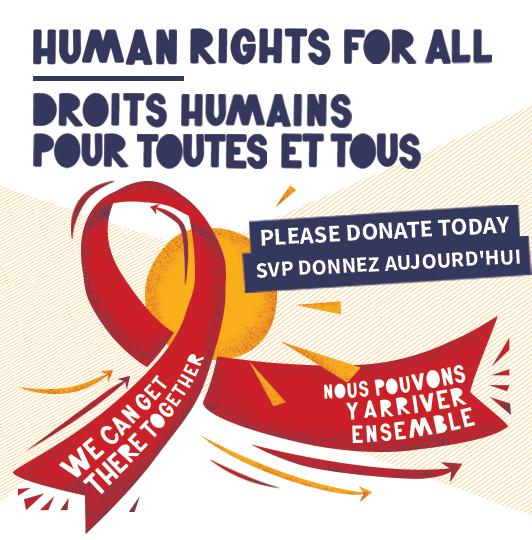 Droits humains pour toutes et tous : SVP donnez aujourd'hui