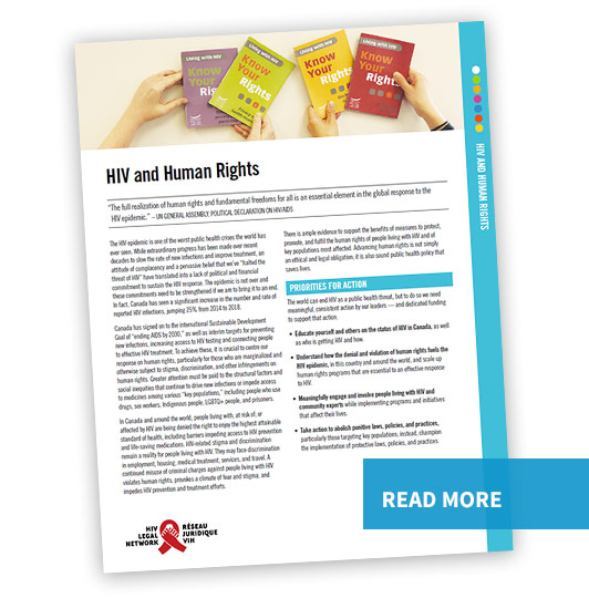 HIV and Human Rights - Read more