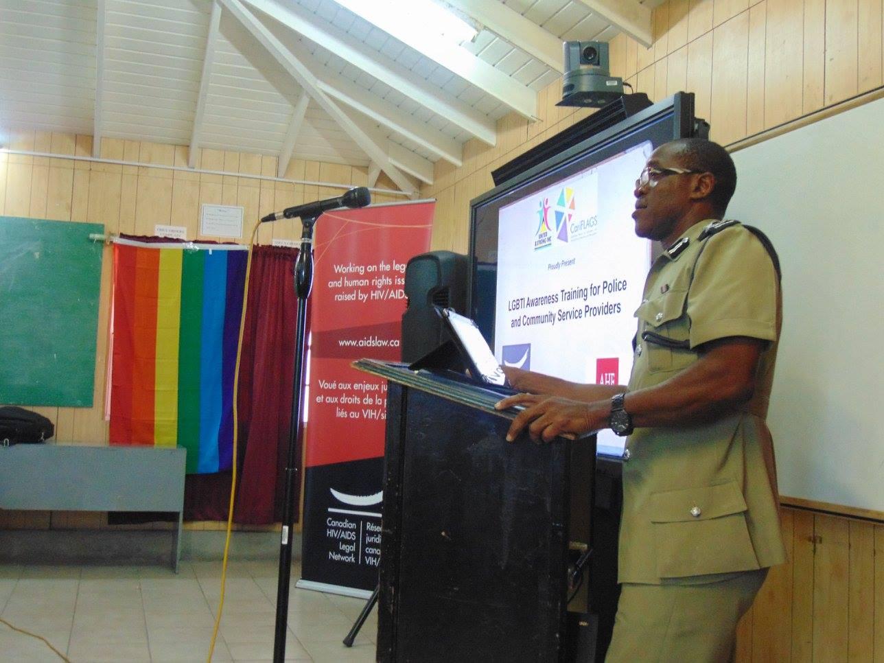 Antigua Police LGBTI Sensitization Training
