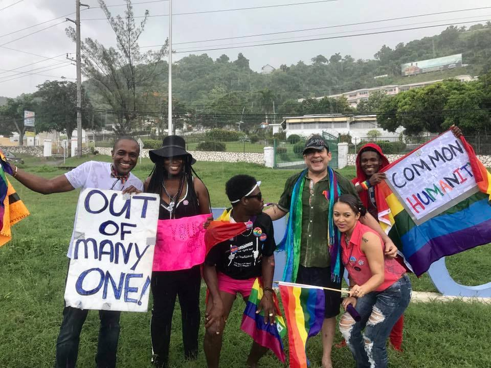 Montego Bay Pride 2016 Flash Stand